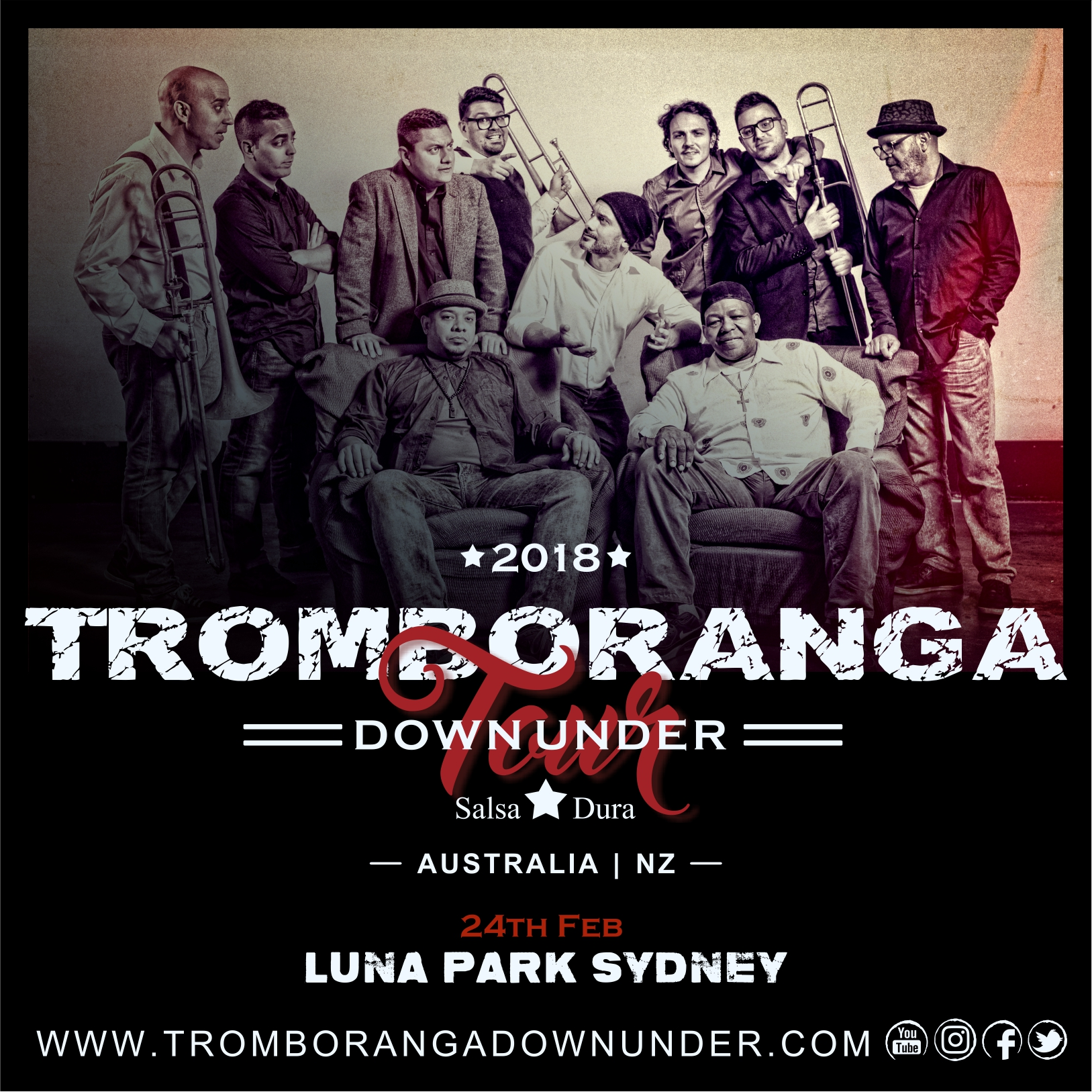 TROMBORANGA DOWN UNDER TOUR