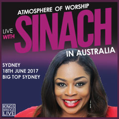 Live with SINACH