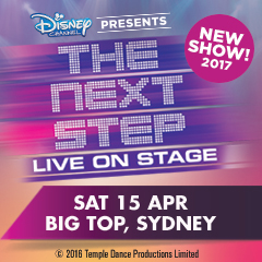 THE NEXT STEP - LIVE ON STAGE